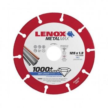 Disque de coupe meuleuse Lenox MetalMax 125x1,3mm