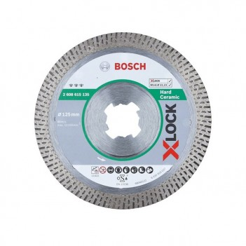 Disque À Tronçonner Diamanté X-LOCK Best For Hard Ceramic Bosch 125mm