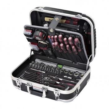 """Coffret d'outils B100, ABS, 1/4"""" + 1/2"""", 169 pcs. Kraftwerk"""