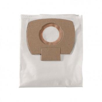 5 Sacs filtrants non-tissé - 25/30 l, ASA 25/30 l pc/ inox Metabo