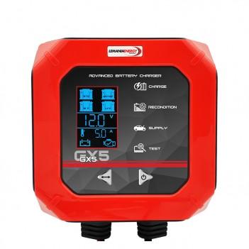 Chargeur de batterie voiture/utilitaire 12V - 5.0A GX5 Lemania Energy
