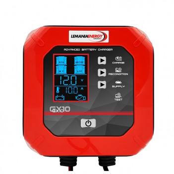 Chargeur de batterie voiture/utilitaire 12V - 10.0A GX10 Lemania Energy