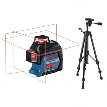 Laser lignes GLL 3-80 + Trépied BT 150 Bosch