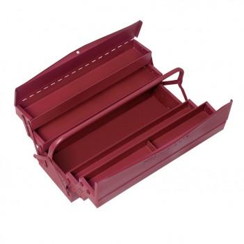 Caisse à outils en tôle d'acier épais, 5 compartiments. Kraftwerk