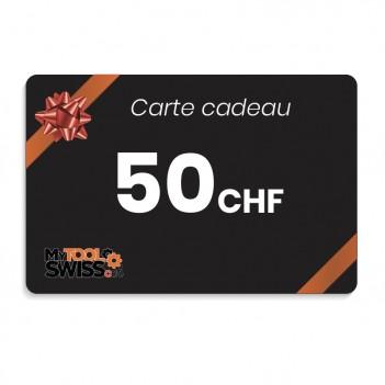 Carte cadeau MyToolSwiss | 50 CHF
