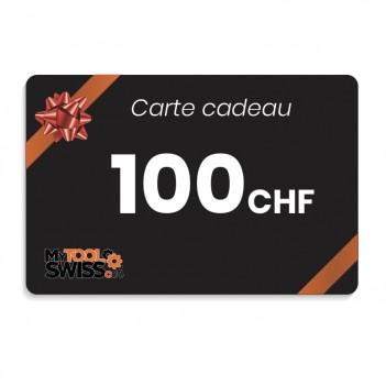 Carte cadeau MyToolSwiss | 100 CHF