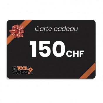Carte cadeau MyToolSwiss | 150 CHF