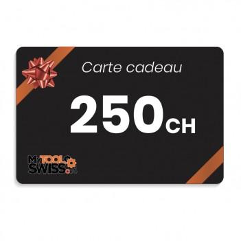 Carte cadeau MyToolSwiss | 250 CHF