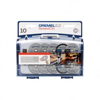 Coffret d'accessoires EZ SpeedClic pour la découpe Dremel