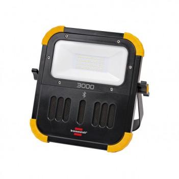 Projecteur LED rechargeable BLUMO 30W avec haut-parleurs Brennenstuhl