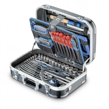 """Coffret d'outils en ABS 1/4"""", 1/2"""" + Tournevis PB 179-pcs Asphalt"""