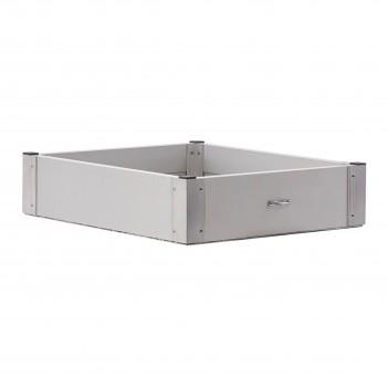Caisson en aluminium pour triporteur EM.A Facom