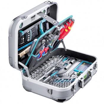 ABS-Werkzeugkoffer PRO CHROME 185 Technocraft