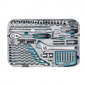 Coffre à outils Technocraft en ABS Pro Chrome 185 pièces