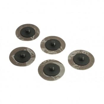 Feuilles abrasives 50 mm Grain 60 - 80 - 120 Hazet