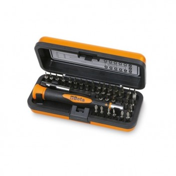Micro-tournevis avec 36 embouts 4 mm Beta 1256/C36-2