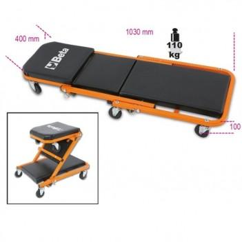 Couchette d'atelier et siège mobile Beta 3002