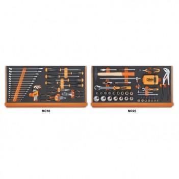 108 outils en plateaux mousse compacte Beta 5927VU/M