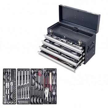 "Boîte à outils Basic-Line, 1/4"" + 1/2"", 100 pcs. Kraftwerk"