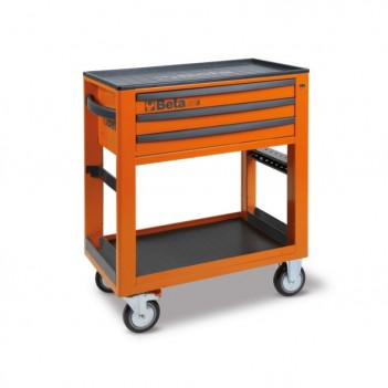 Chariot de service d'atelier à 3 tiroirs (vide) C50S Beta