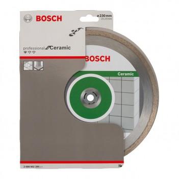 Disque à tronçonner diamanté 230 mm Standard for Ceramic Bosch
