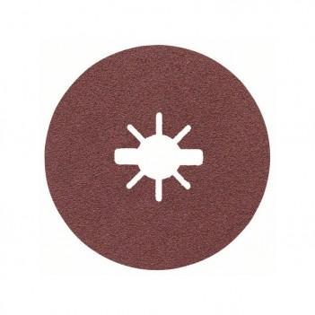 Disque abrasif en fibre pour meuleuse angulaire X-LOCK R444 Expert for Metal Bosch 115mm