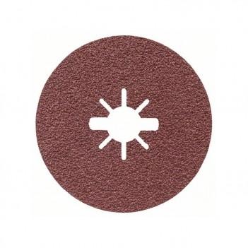 Disque abrasif en fibre pour meuleuse angulaire X-LOCK R444 Expert for Metal Bosch 125mm