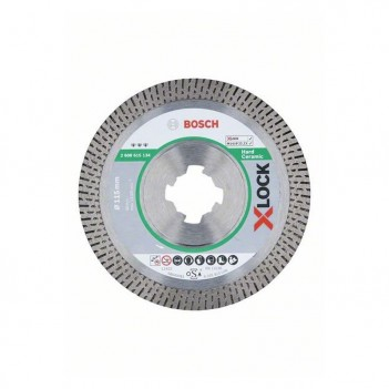 Disques à tronçonner diamantés X-LOCK Best for Hard Ceramic Bosch 115mm