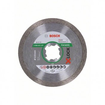 Disque à tronçonner diamanté X-LOCK Standard for Ceramic Bosch 115mm
