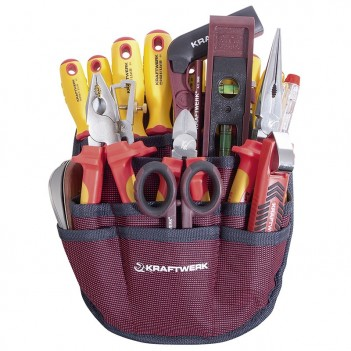 Trousse de 20 outils pour électricien Kraftwerk