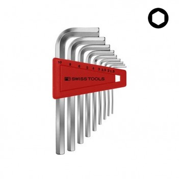 Jeu de clés mâles 6 pans PB Swiss Tools PB 210.H-10