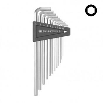 Jeu de clés mâles 6 pans longues PB Swiss Tools PB 214Z.H-12