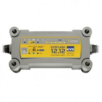 Chargeur auto et poids lourd 12V Gysflash 12.12 Gys