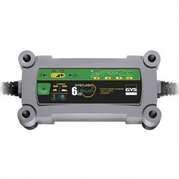 Chargeur 12V 4/6A Gysflash Lithium 6.12 Gys