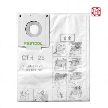 Sac filtre de sécurité FIS-CTH 26/3 Festool