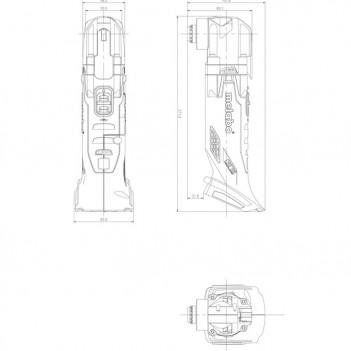 Fraiseuses DOMINO DF 500 DF 500 Q-Plus CH