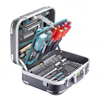 """Coffre à outils ABS """"PRO CHROME"""" 152 pièces Technocraft"""