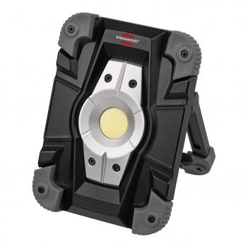 Projecteur LED rechargeable 10W IP54 avec USB Brennenstuhl