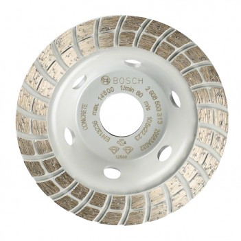 Meule assiettes diamantées Standard for Concrete Turbo Bosch