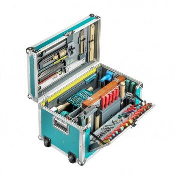 Caisse à outils 184 pièces pour charpentiers Pro Technocraft