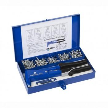Coffret Nietbox Junior : Pince manuelle NTX + Rivets Gesipa