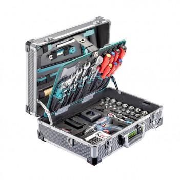 Coffre à outils en alu Pro GSR 135 + Visseuse Bosch Technocraft