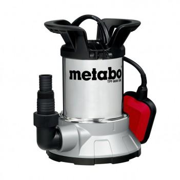 Pompe immergée à aspiration plate pour eau claire TPF 6600 SN Metabo