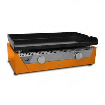 Plancha à gaz Rainbow Orange acier laminé Simogas