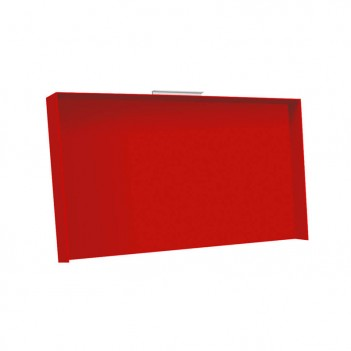 Couvercle plancha Rainbow Rouge Simogas