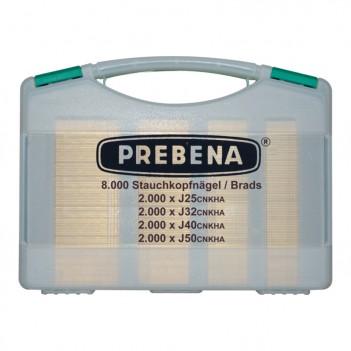 Coffret de clous pointes J-Box Prebena