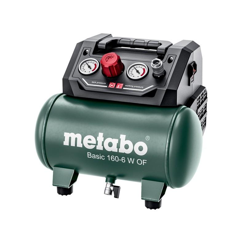 Compresseur 8 bar BASIC 160-6 W OF 6l Metabo