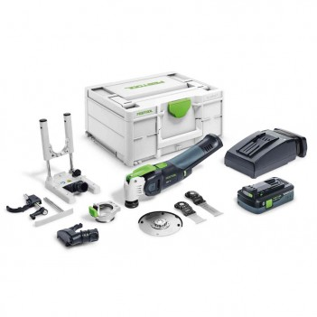 Outil oscillant VECTURO OSC 18 HPC 4,0 EI-Set Festool