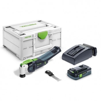 Outil oscillant VECTURO OSC 18 HPC 4,0 EI-Plus Festool