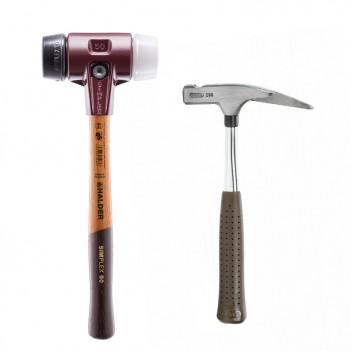 Boite classique marteau de charpentier+maillet Picard / Halder